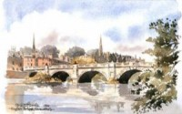 English Bridge, Shrewsbury 0617