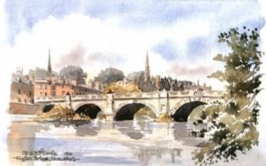 English Bridge, Shrewsbury 0617