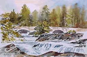The Falls of Dochart 0667
