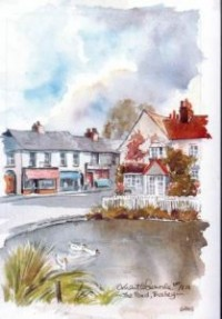 The Pond, Bushey 0684