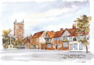 High Street, St Albans 0687