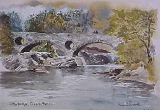 The Bridge, Cenarth Falls 0702