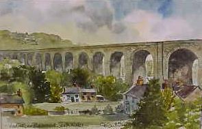 Viaduct nr Blackwood 0709