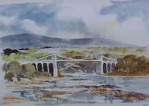 Menai Suspension Bridge 0717