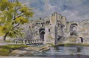 Beaumaris Castle 0719