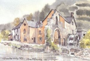 Dunster Water Mill 0731