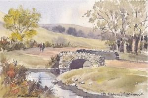 Robbers Bridge, Exmoor 0739