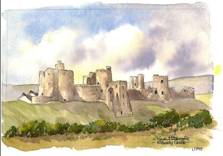 Kidwelly Castle 0795