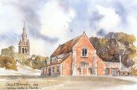 Oakham Castle & Church 0796