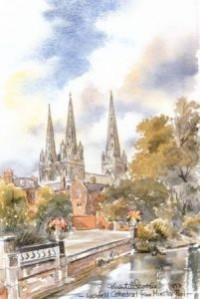 Lichfield Cathedral 0806