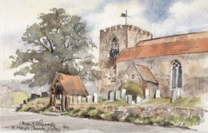 St Mary's Church, Oxted 0878