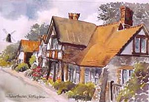 Tudor Houses, Rottingdean 0905