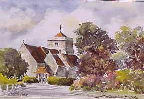 The Church at Ardingly 0912