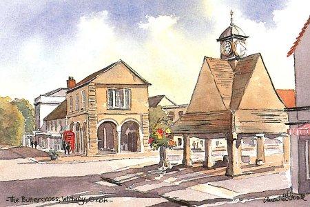 The Buttercross, Witney 0943