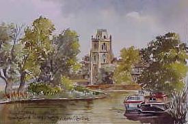 Hemingford Grey Church 0965