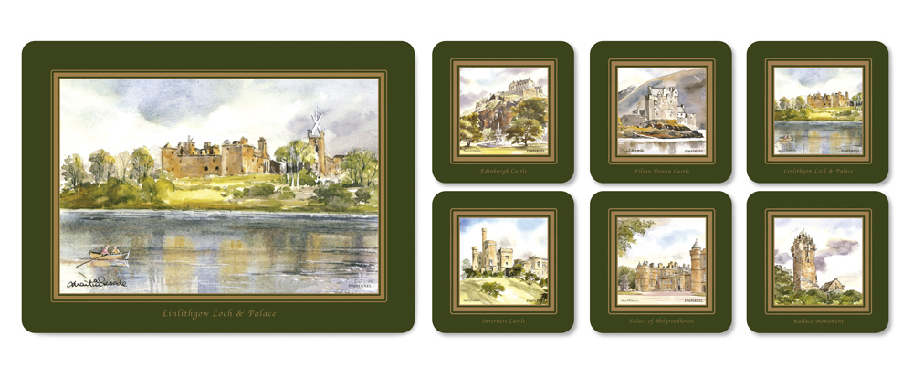 Scottish_Scenes_Mats_Coasters