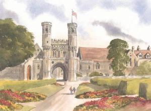 St Augustine's, Canterbury 0124