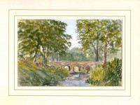 Minnowburn Bridge, Belfast, Original Watercolour Painting by Martin Goode