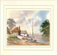 The Inlet, Original Watercolour Painting by Martin Goode