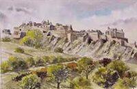 Edinburgh Castle & Gardens 1005
