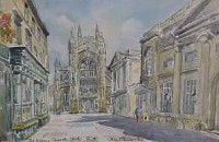 Abbey Church Yard, Bath 1043
