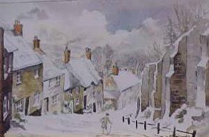 Gold Hill (Snow), Shaftesbury 1058