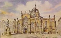 St Giles Cathedral, Edinburgh 1061