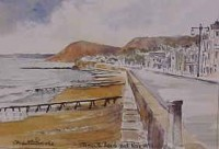 Sidmouth Beach & Peak Hill 1073