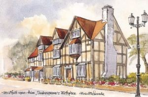 Shakespeare's Birthplace 1091