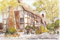 Anne Hathaway's Cottage 1093