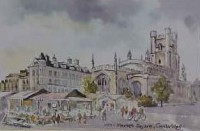 Market Square, Cambridge 1127