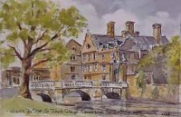 Wren's Bridge, Cambridge 1128