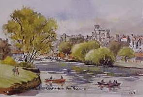 Windsor Castle from The Thames 1129