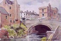 Baggot Street Bridge, Dublin 1215