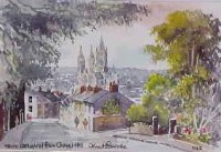 Truro Cathedral from Chapel Hill 1243