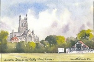 Worcester Cathedral/Cricket Ground 1272