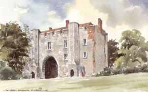 Abbey Gatehouse, St Albans 0129