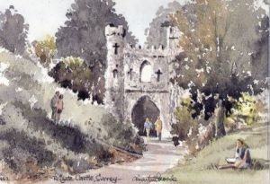 Reigate Castle 1462