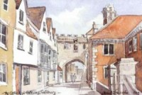 Cathedral Gateway, Salisbury 1534