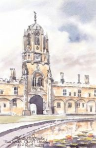 Tom Quad, Christchurch, Oxford 1539