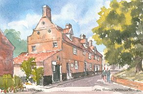 Almshouses, Halesworth 1601
