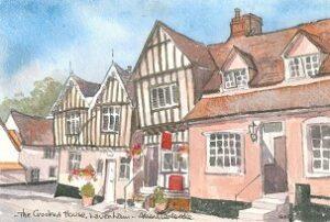 Crooked House, Lavenham 1605