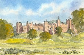 Framlingham Castle 1606