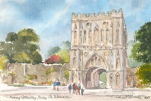 Abbey Gateway, Bury St Edmunds 1607