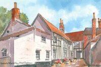 Queens Head Alley, Framlingham 1609