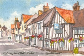 Church Street, Lavenham 1615