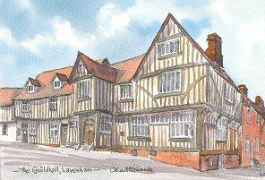 Guildhall, Lavenham 1627