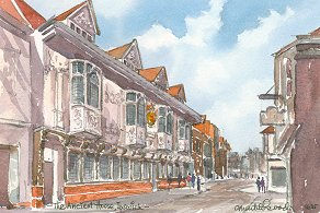 Ancient House, Ipswich 1635