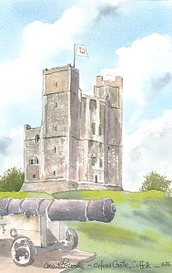 Orford Castle 1636