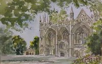 Peterborough Cathedral 1637